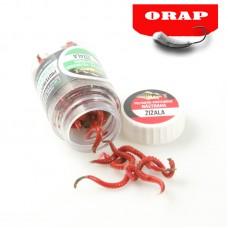 Žížala - Orap red polymer body - L